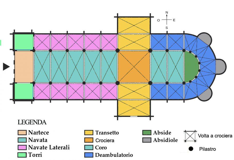Il romanico architettura di un espressione culturale in movimento - Elementi architettonici di una chiesa ...