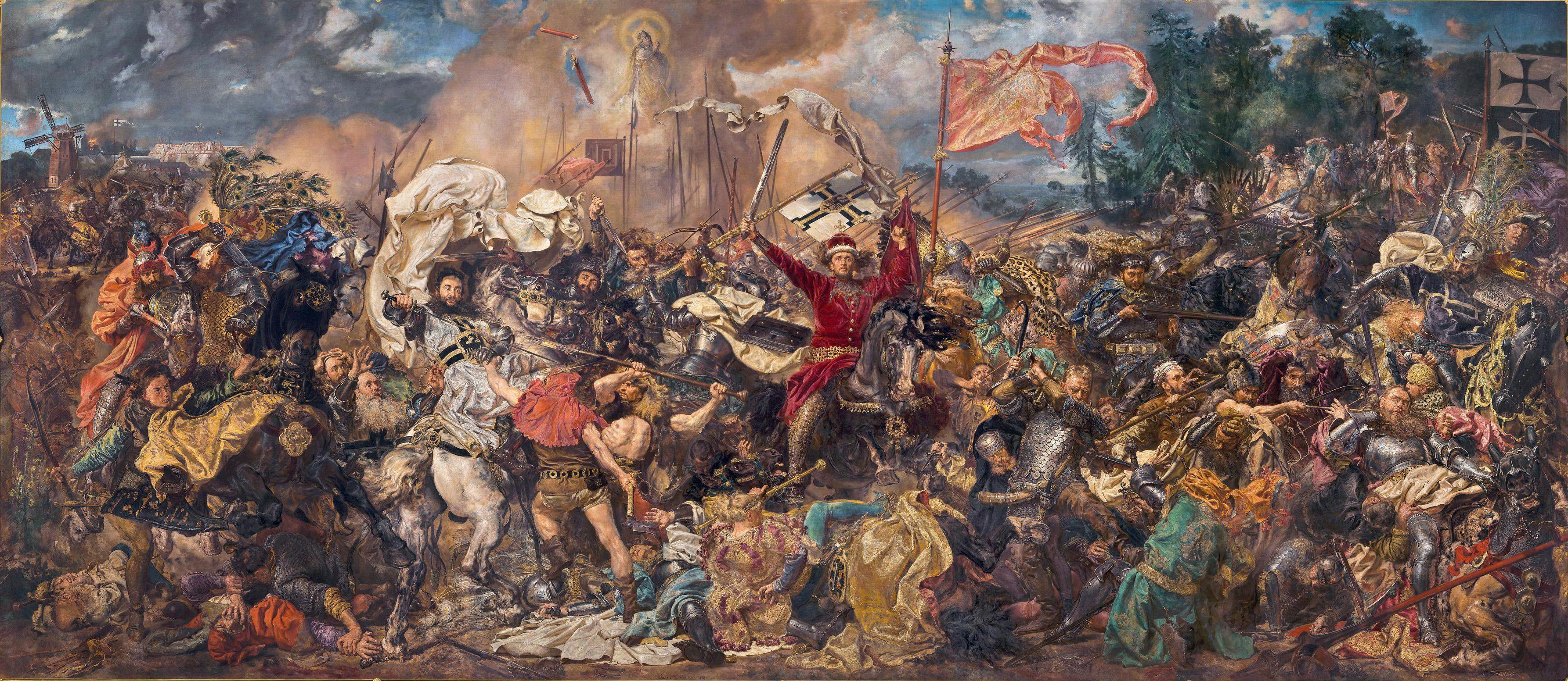 battaglia di tannenberg, storia medievale, storia della polonia, ordine teutonico, storia militare