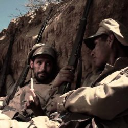 Chaco Ricostruzione dei fanti boliviani impegnati nel conflitto tratto dal film _boqueron_che prende il nome dall'omonima battaglia del conflitto